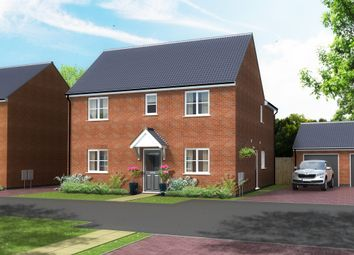 Thumbnail 3 bed detached house for sale in Saville Road, Blaby, Leicester