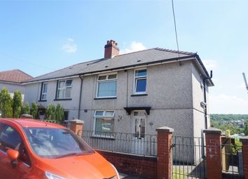 Thumbnail 3 bed semi-detached house for sale in Glanddu Terrace, Tir-Y-Berth, Hengoed, Caerphilly