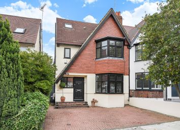 Thumbnail 4 bed semi-detached house for sale in Cyprus Avenue, Finchley N3,
