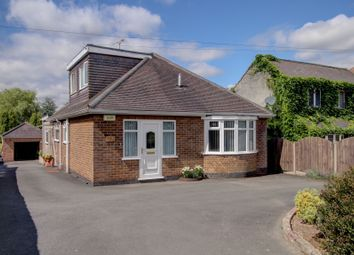 Thumbnail 3 bed bungalow for sale in Burton Road, Overseal, Swadlincote