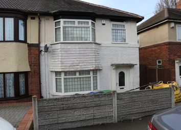 Thumbnail 3 bed semi-detached house to rent in Lakeside Road, West Bromwich