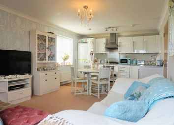 Thumbnail 2 bed flat for sale in Lawn Road, Gravesend