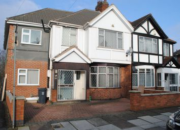 Thumbnail 4 bed semi-detached house for sale in Homeway Road, Leicester