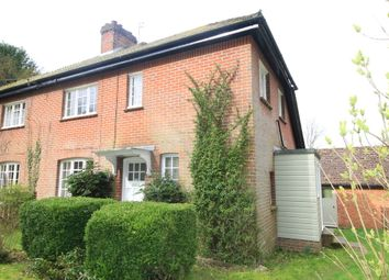 Thumbnail 2 bed semi-detached house to rent in Chilbolton, Stockbridge