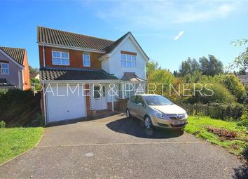Thumbnail 4 bed detached house for sale in Richard Burn Way, Sudbury