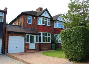 Thumbnail 3 bed semi-detached house for sale in Rokeby Gardens, Woodford Green