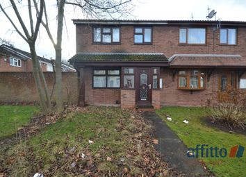 Thumbnail 3 bed semi-detached house to rent in Hordern Road, Wolverhampton