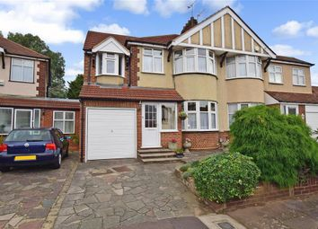 Thumbnail 4 bed semi-detached house for sale in Dymchurch Close, Ilford, Essex