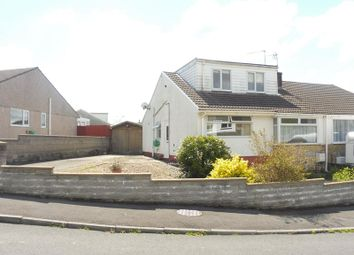 Thumbnail 4 bed semi-detached house for sale in Manor Park, Pencoed, Bridgend