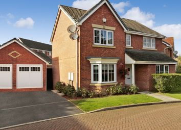 Thumbnail 4 bed detached house for sale in Pompeii Court, Lincoln, Lincolnshire