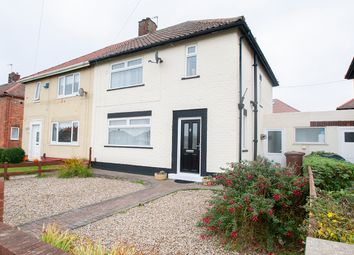 Thumbnail 3 bed semi-detached house for sale in Chaucer Avenue, Hartlepool