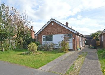 Thumbnail 3 bed detached bungalow for sale in Wolsey Road, Woodlands, Bilton, Rugby