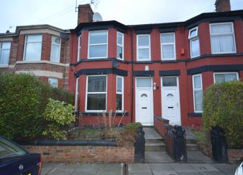 Thumbnail 4 bed terraced house to rent in Morecroft Road, Rock Ferry, Birkenhead