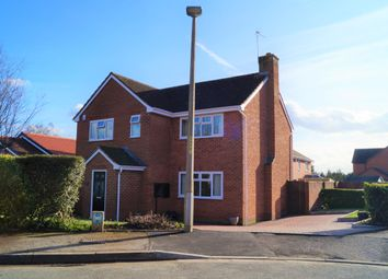 Thumbnail 4 bed detached house for sale in Meadow Road, Worcester