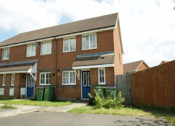Thumbnail 2 bedroom end terrace house to rent in Mitchell Avenue, Hawkinge, Folkestone
