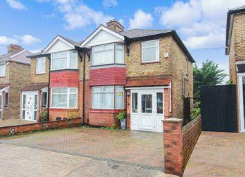 Thumbnail 3 bed semi-detached house for sale in Dellfield Crescent, Uxbridge