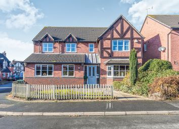 Thumbnail 5 bed detached house for sale in Perch Road, Broomhall, Worcester