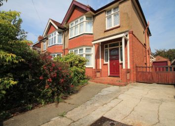 Thumbnail 3 bed semi-detached house to rent in Loxwood Avenue, Broadwater, Worthing