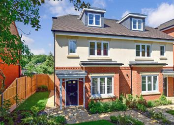 Thumbnail 4 bed semi-detached house for sale in Falmer Road, Woodingdean, Brighton, East Sussex