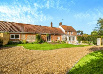 Thumbnail 3 bed detached house for sale in The Green, Edgefield, Melton Constable