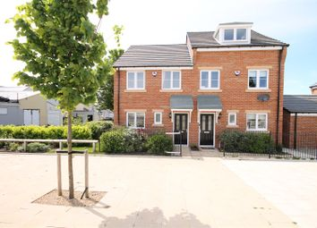 Thumbnail 3 bed semi-detached house to rent in Kirkfields, Sherburn Hill, Durham