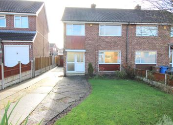 Thumbnail 3 bed semi-detached house to rent in Sancroft Road, Spondon, Derby