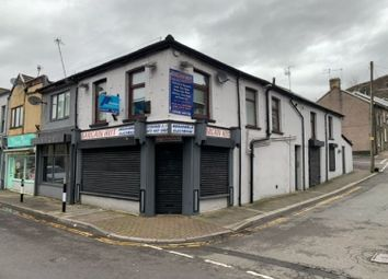 Thumbnail Retail premises for sale in Brook Street, Tonypandy