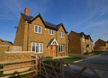 Thumbnail 4 bed detached house for sale in Fleet Farm Way, Adderbury, Banbury