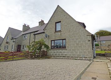 Thumbnail 2 bed end terrace house for sale in Church Crescent, New Pitsligo, Fraserburgh