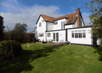 Thumbnail 4 bedroom detached house for sale in Beccles Road, Fritton, Great Yarmouth