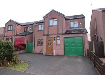 Thumbnail 4 bed detached house for sale in Elton Close, North Wingfield, Chesterfield