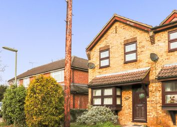 Thumbnail 1 bed terraced house to rent in Oakley Close, Addlestone