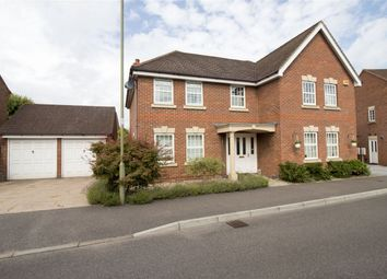 Thumbnail 5 bed detached house for sale in Harrow Road, Fleet