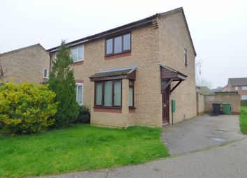 Thumbnail 2 bedroom semi-detached house to rent in Suffield Close, Long Stratton, Norwich, Norfolk