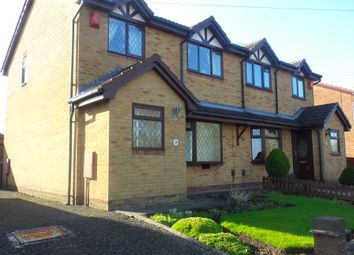 Thumbnail 3 bedroom semi-detached house to rent in Goldenhill, Stoke-On-Trent