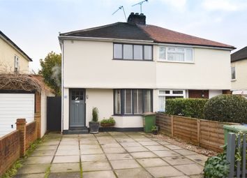 Molesey Road, Hersham Village, Surrey KT12. 2 bed semi-detached house for sale