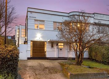 Thumbnail 4 bed semi-detached house for sale in Abbotshall Avenue, Southgate, London