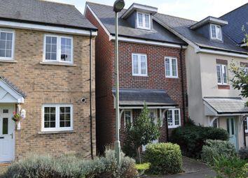 Thumbnail 3 bed end terrace house to rent in Warren Close, Farnham, Surrey