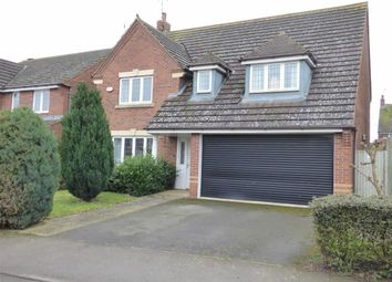 Thumbnail 4 bed detached house for sale in Pyke Way, Crick, Northampton