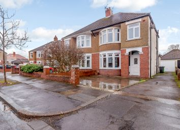 Thumbnail 3 bed semi-detached house for sale in St. Agatha Road, Cardiff, Caerdydd