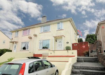 Thumbnail 3 bed semi-detached house for sale in Budshead Road, Plymouth