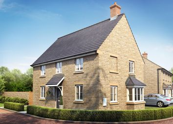 "Thumbnail 4 bed detached house for sale in ""Cornell"" at Field Close, Longworth, Abingdon"
