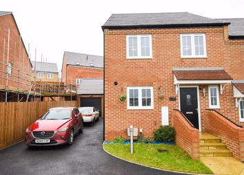 Thumbnail 3 bed semi-detached house for sale in Deeley Close, Stanton Cross, Wellingborough