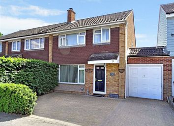Thumbnail 3 bed semi-detached house for sale in Firecrest Road, Chelmsford, Essex