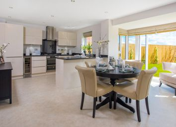"Thumbnail 4 bed detached house for sale in ""Harborough"" at Arnold Drive, Corby"