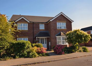 Thumbnail 4 bed detached house for sale in Deira Close, Quarrington, Sleaford