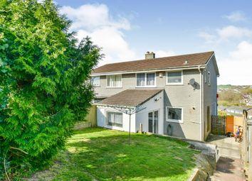 Elliott Close, Saltash PL12. 3 bed semi-detached house for sale