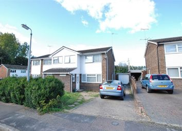 Thumbnail 3 bed semi-detached house for sale in Marshall Close, Feering, Essex
