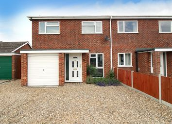 Thumbnail 3 bed semi-detached house for sale in Childs Road, Hethersett, Norwich