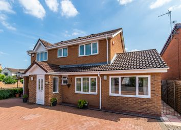 Thumbnail 5 bed detached house for sale in Mulberry Close, West Bridgford, Nottingham